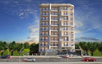 Новый комплекс в центре Алании в 10 минутах от пляжа Кейкубат