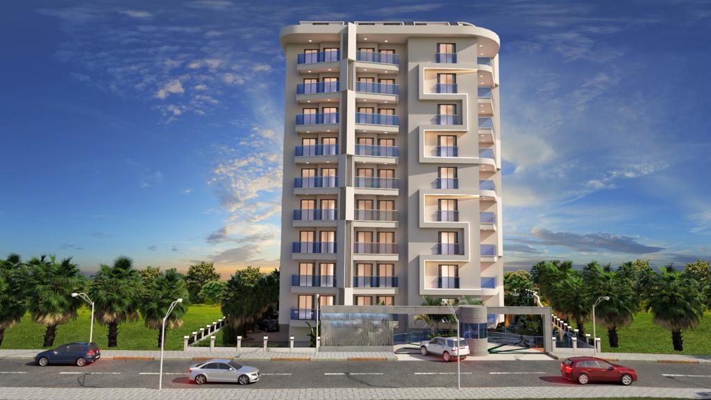 Новый комплекс в центре Алании в 10 минутах от пляжа Кейкубат  - Фото 1