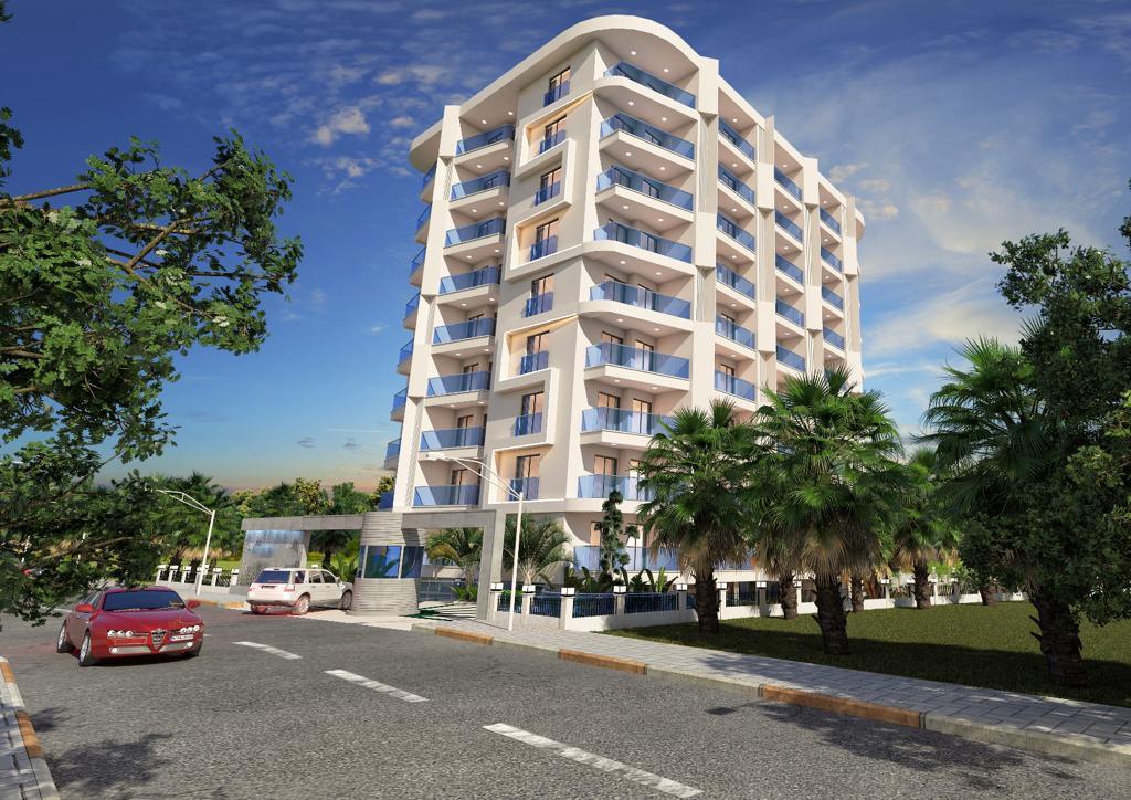 Новый комплекс в центре Алании в 10 минутах от пляжа Кейкубат  - Фото 2