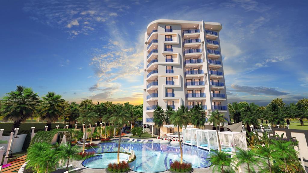 Новый комплекс в центре Алании в 10 минутах от пляжа Кейкубат  - Фото 4
