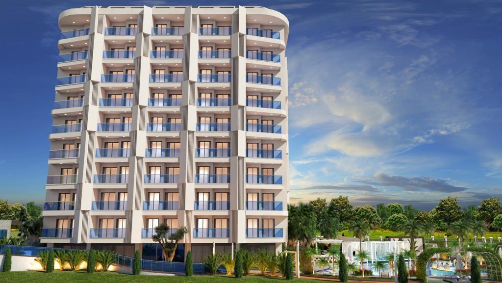 Новый комплекс в центре Алании в 10 минутах от пляжа Кейкубат  - Фото 3