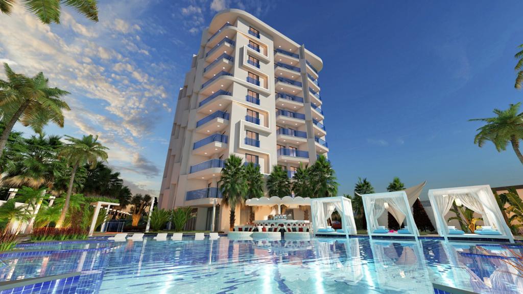 Новый комплекс в центре Алании в 10 минутах от пляжа Кейкубат  - Фото 8
