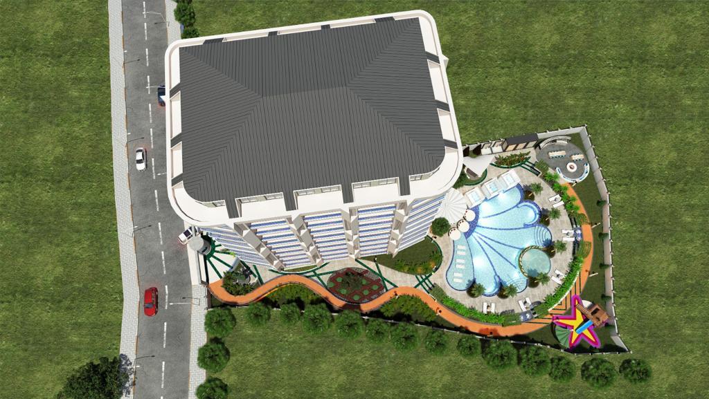 Новый комплекс в центре Алании в 10 минутах от пляжа Кейкубат  - Фото 15
