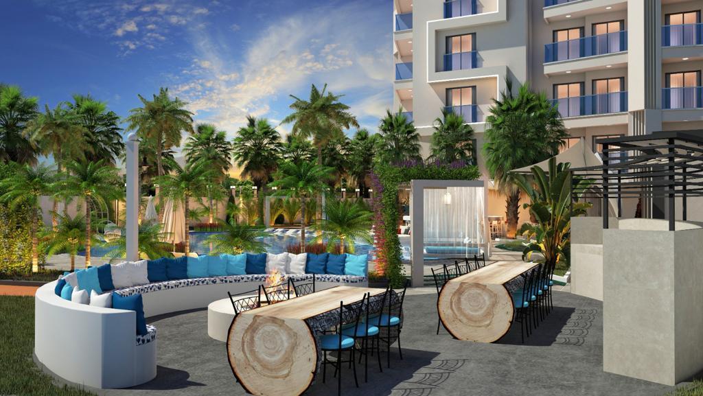Новый комплекс в центре Алании в 10 минутах от пляжа Кейкубат  - Фото 17
