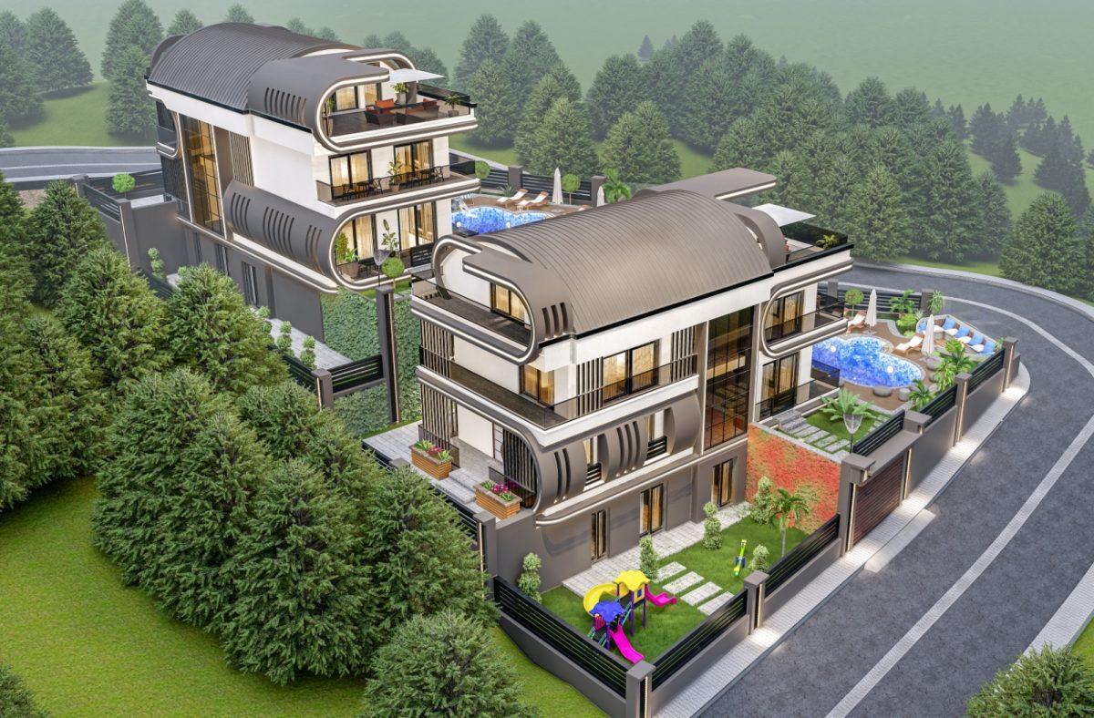 Инвестиционный проект Вилл класса LUXE в районе Каргыджак - Фото 2