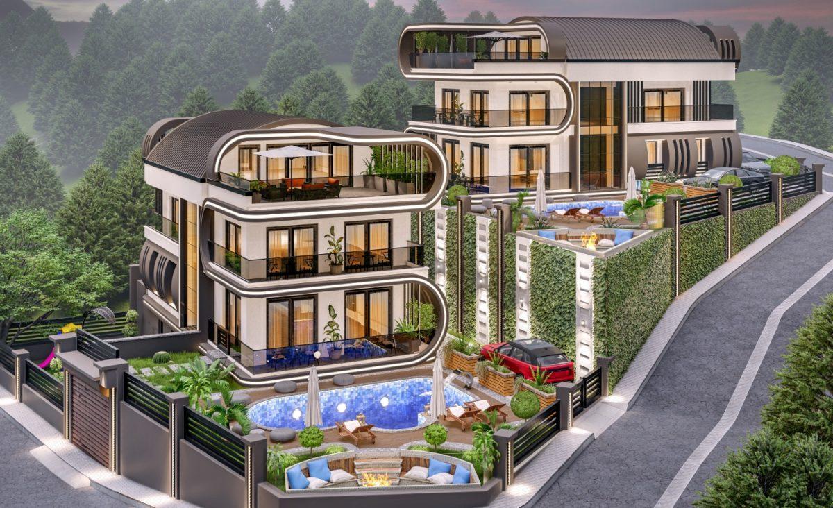 Инвестиционный проект Вилл класса LUXE в районе Каргыджак - Фото 5