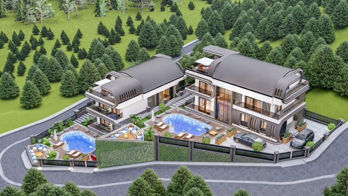 Инвестиционный проект Вилл класса LUXE в районе Каргыджак - Фото 6