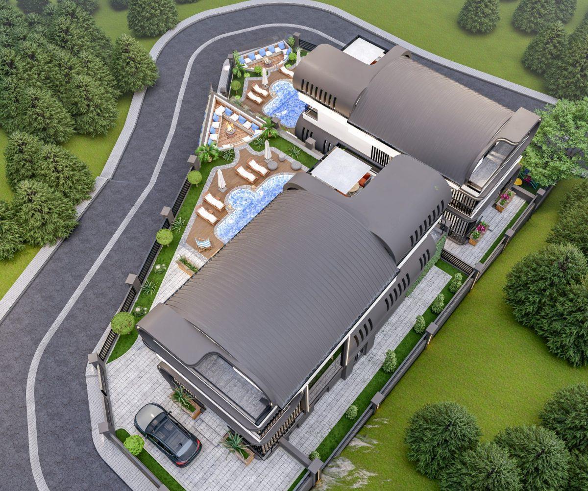 Инвестиционный проект Вилл класса LUXE в районе Каргыджак - Фото 8