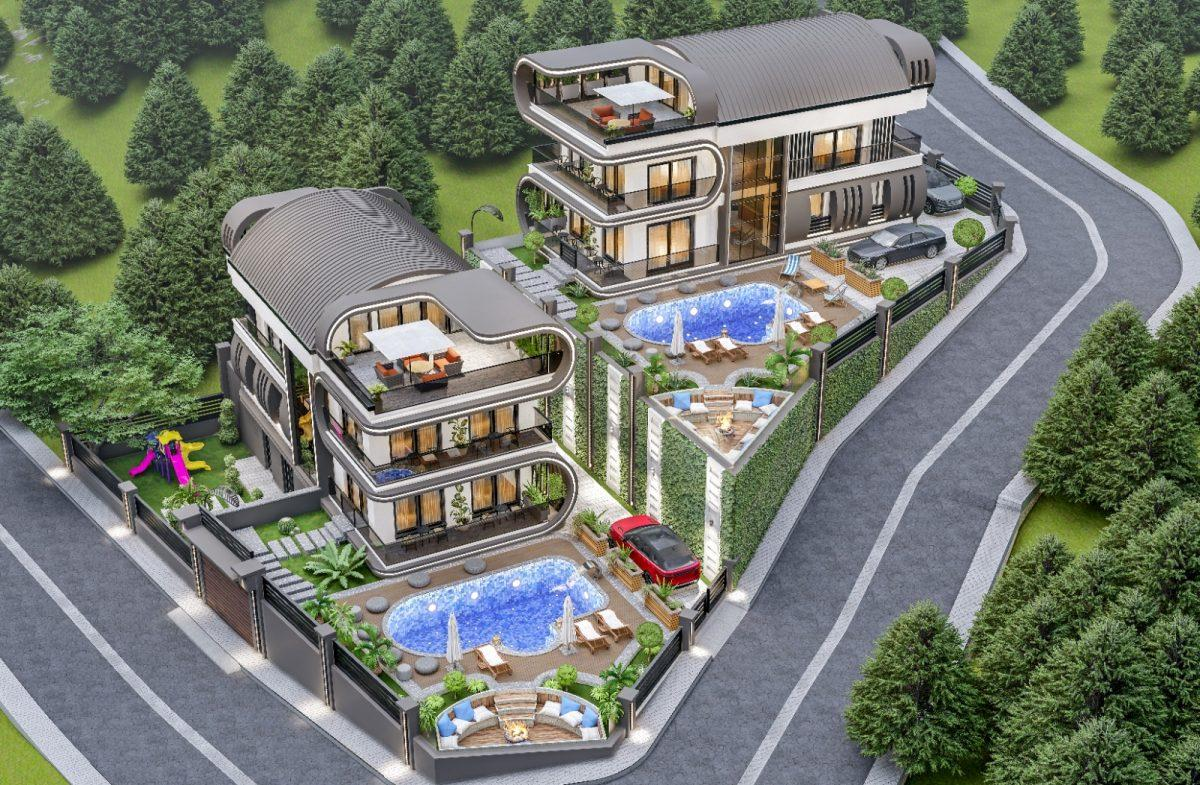 Инвестиционный проект Вилл класса LUXE в районе Каргыджак - Фото 1