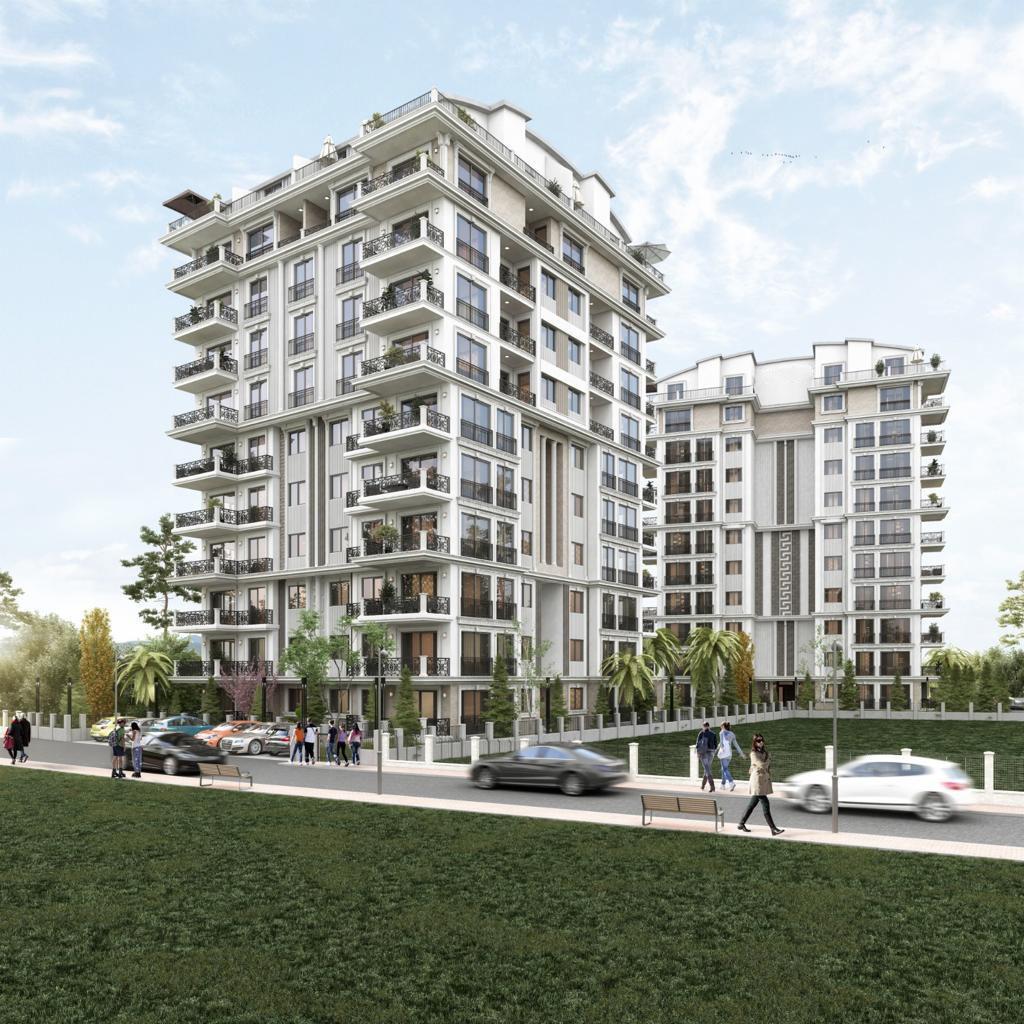 Новый жилой комплекс на этапе строительства в центре Алании - Фото 7