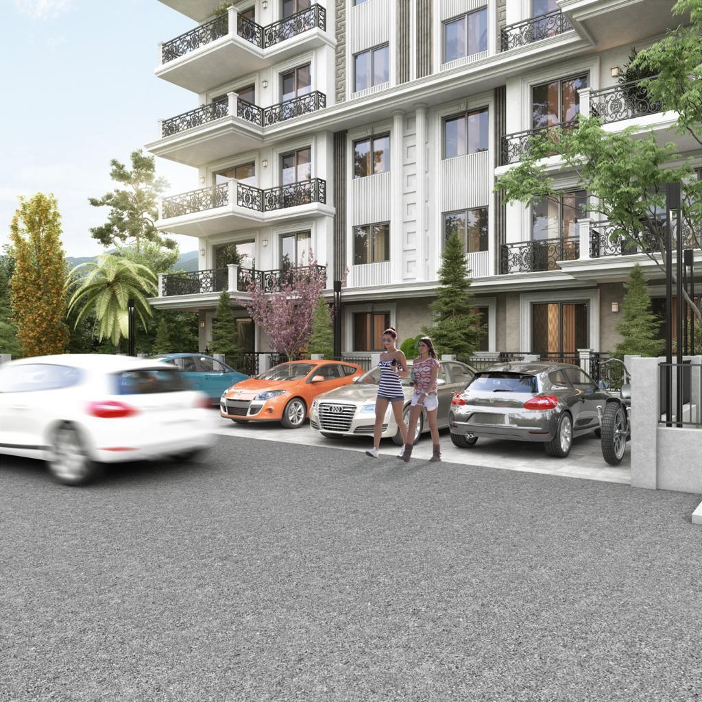 Новый жилой комплекс на этапе строительства в центре Алании - Фото 10
