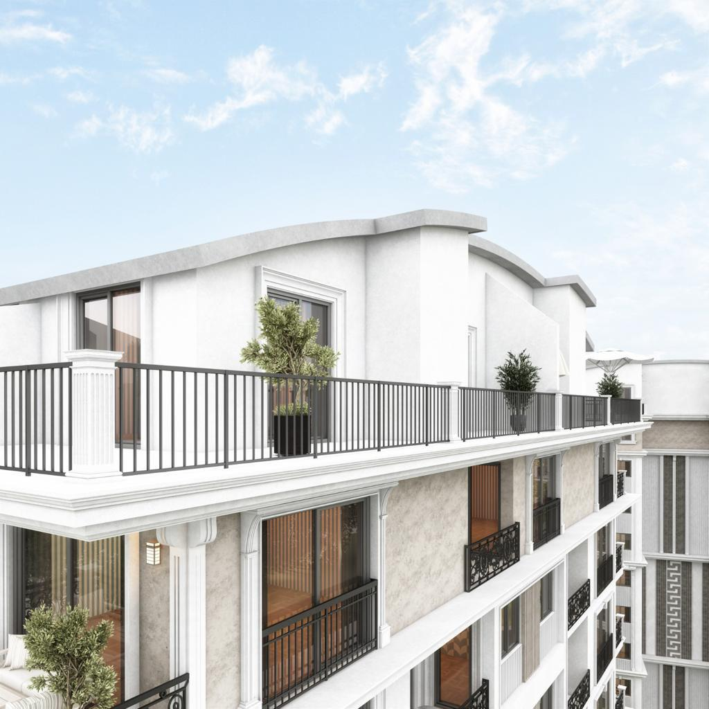 Новый жилой комплекс на этапе строительства в центре Алании - Фото 5