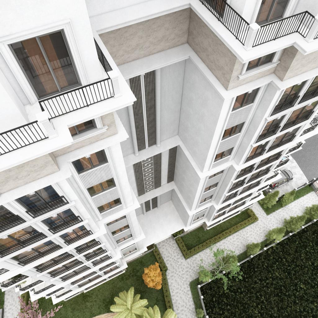 Новый жилой комплекс на этапе строительства в центре Алании - Фото 9