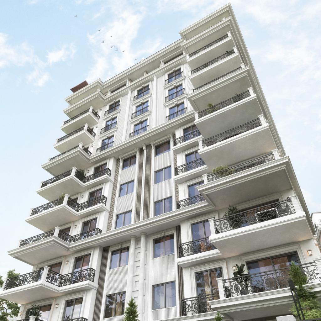 Новый жилой комплекс на этапе строительства в центре Алании - Фото 2