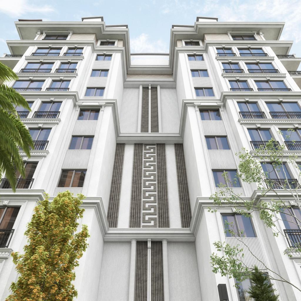 Новый жилой комплекс на этапе строительства в центре Алании - Фото 4