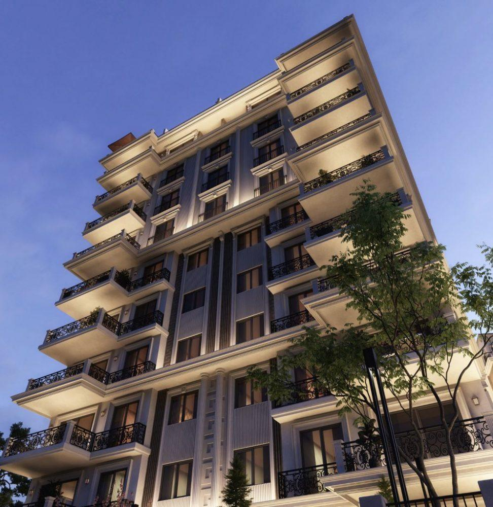 Новый жилой комплекс на этапе строительства в центре Алании - Фото 16