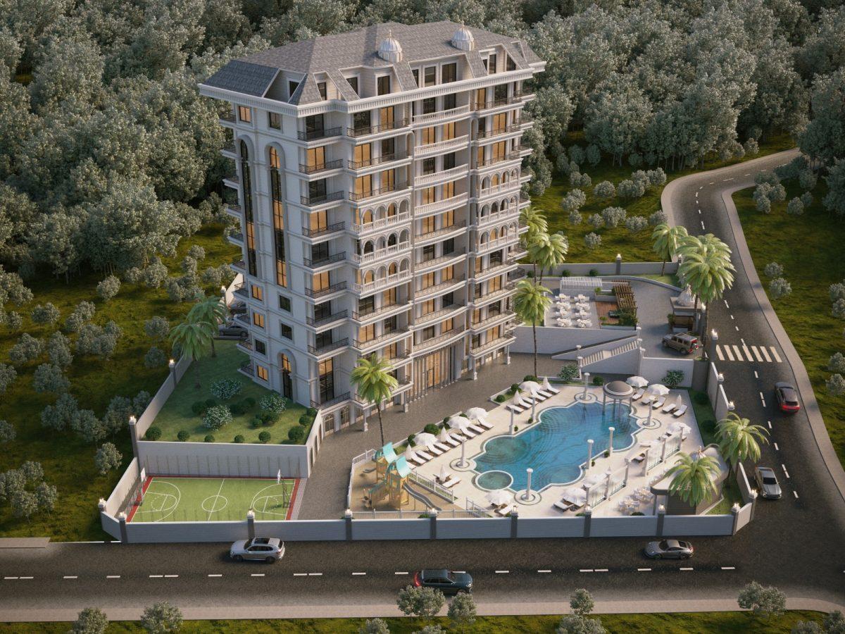 Жилой комплекс с инфраструктурой пятизвездочного отеля в районе Авсаллар - Фото 1