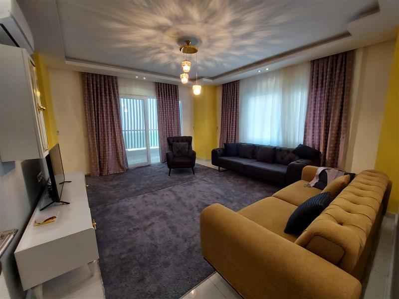 Квартира 2+1 с мебелью и техникой в Махмутларе в 100 метров до моря - Фото 5