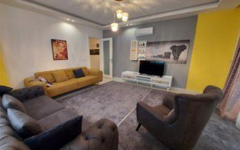 Квартира 2+1 с мебелью и техникой в Махмутларе в 100 метров до моря