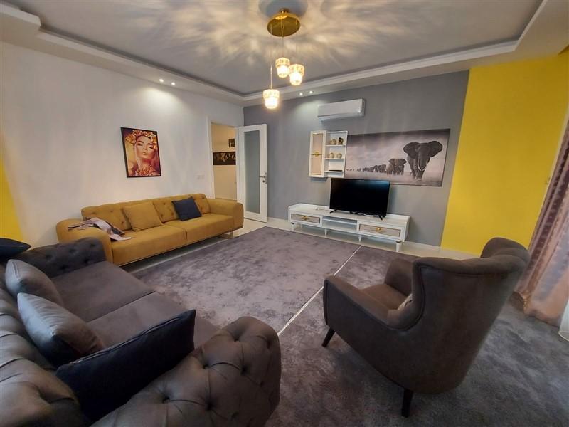 Квартира 2+1 с мебелью и техникой в Махмутларе в 100 метров до моря - Фото 1