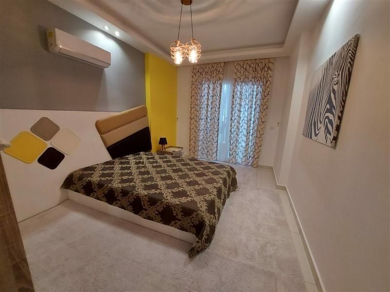 Квартира 2+1 с мебелью и техникой в Махмутларе в 100 метров до моря - Фото 10