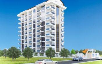 Апартаменты в новом жилом комплексе недалеко от моря