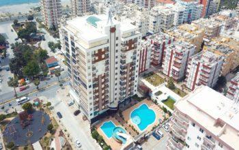 Жилой комплекс в 100 метрах от Средиземного моря
