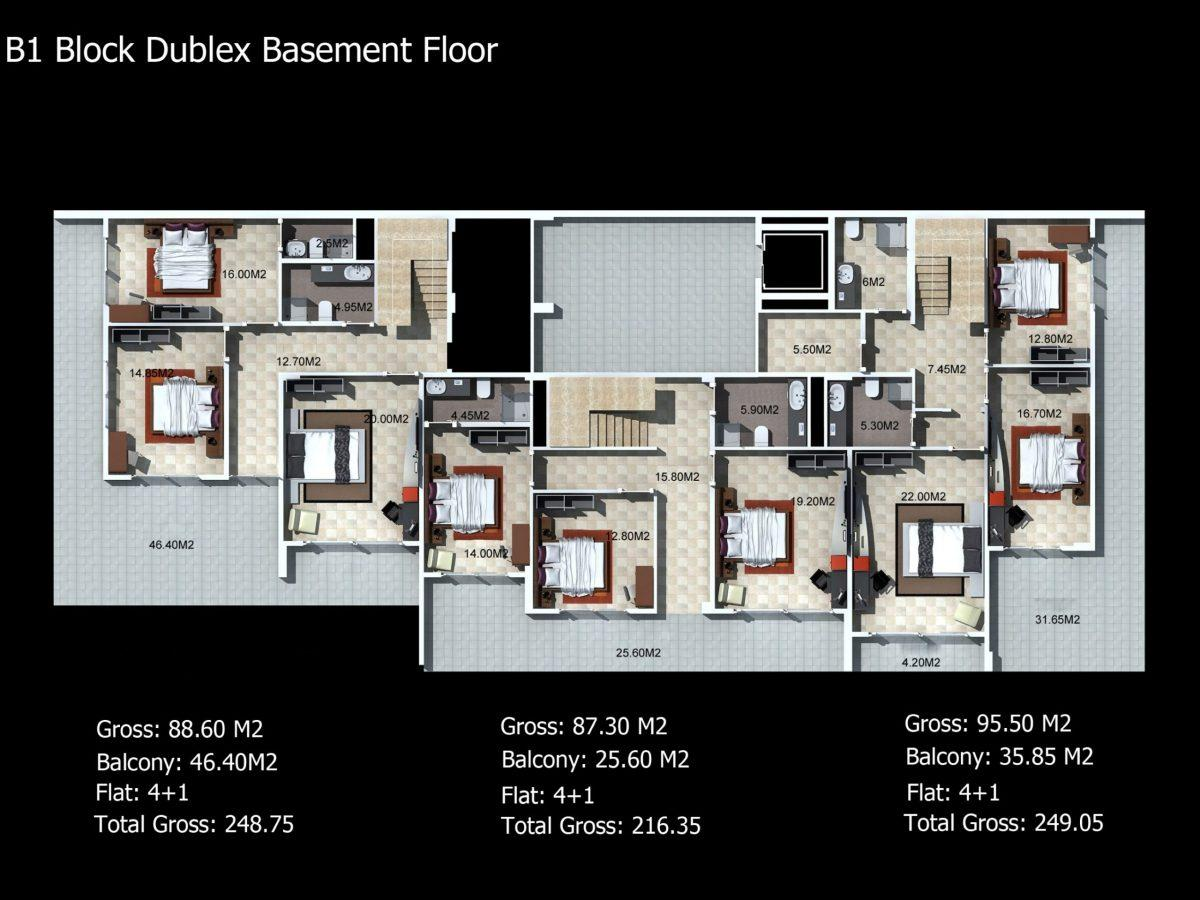Многофункциональный комплекс апартаментов и вилл класса люкс в районе Каргыджак  - Фото 32