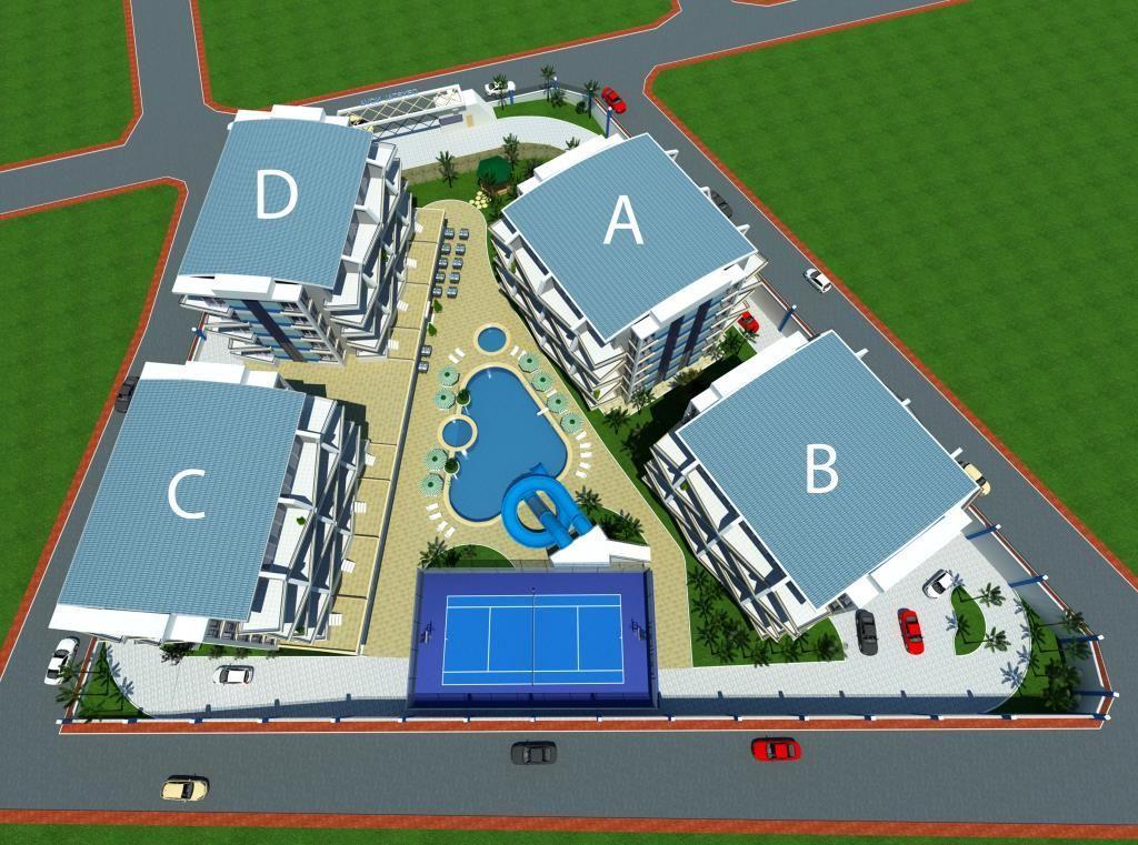 Жилой комплекс с собственной инфраструктурой в районе Джикджилли - Фото 11