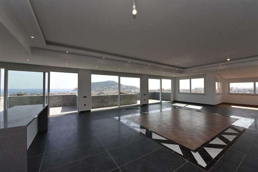 Просторный 8-комнатный пентхаус с видом на море и Аланию - Фото 50