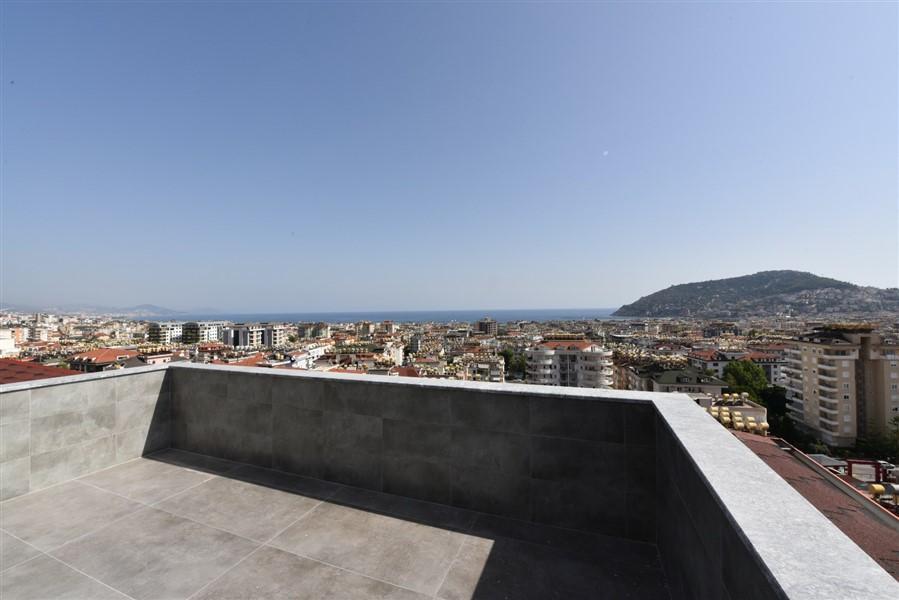 Просторный 8-комнатный пентхаус с видом на море и Аланию - Фото 47