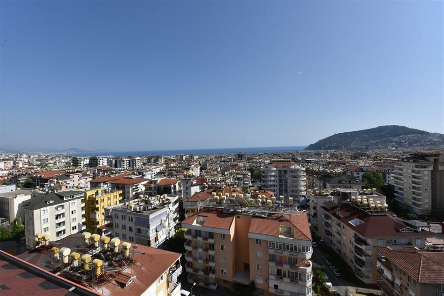 Просторный 8-комнатный пентхаус с видом на море и Аланию - Фото 45