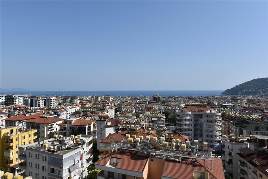 Просторный 8-комнатный пентхаус с видом на море и Аланию - Фото 43