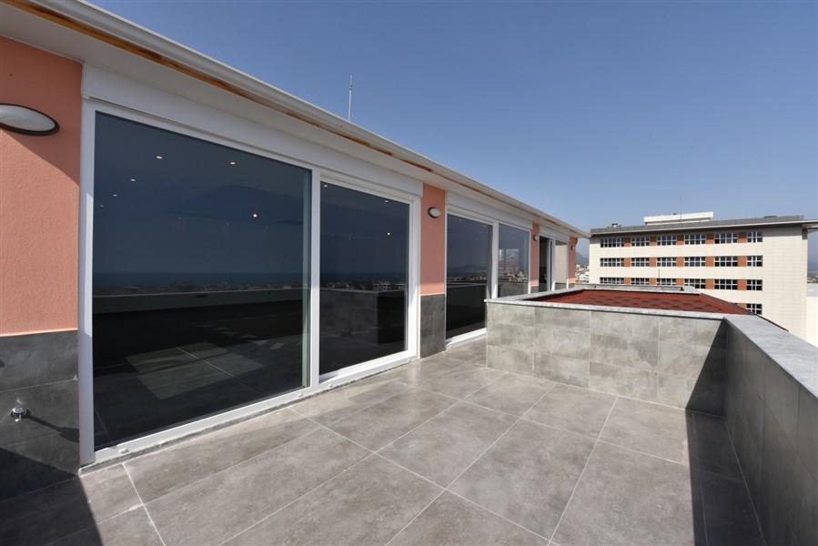 Просторный 8-комнатный пентхаус с видом на море и Аланию - Фото 52