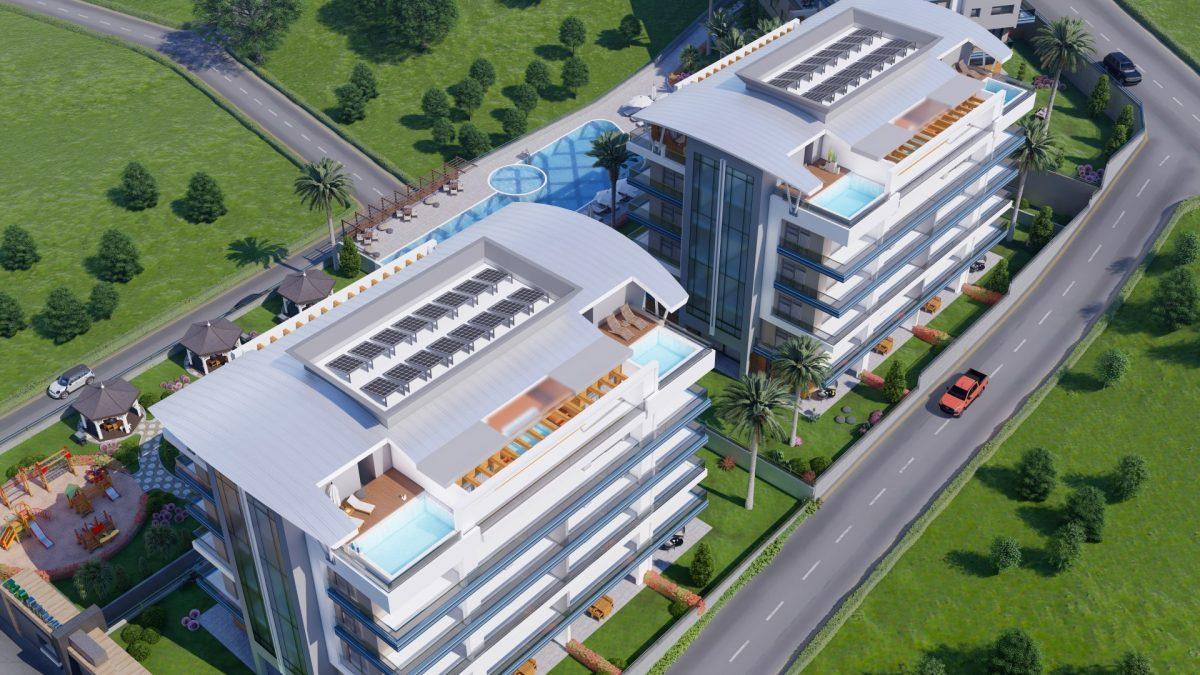 Новый жилой комплекс в экологически чистом районе Каргыджак - Фото 2