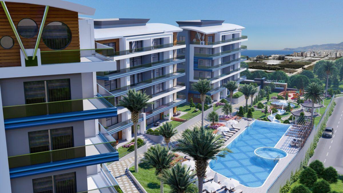 Новый жилой комплекс в экологически чистом районе Каргыджак - Фото 8