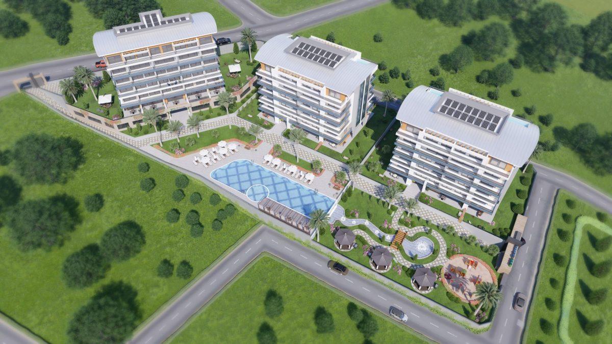 Новый жилой комплекс в экологически чистом районе Каргыджак - Фото 1