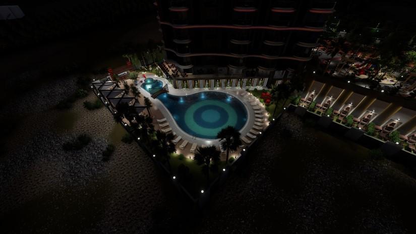 Новый комфортабельный комплекс в районе Махмутлар - Фото 12