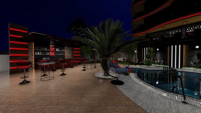 Новый комфортабельный комплекс в районе Махмутлар - Фото 13