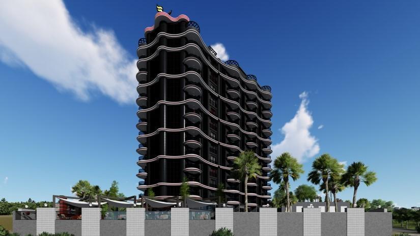 Новый комфортабельный комплекс в районе Махмутлар - Фото 1