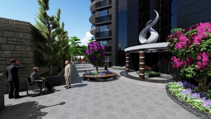Новый комфортабельный комплекс в районе Махмутлар - Фото 7