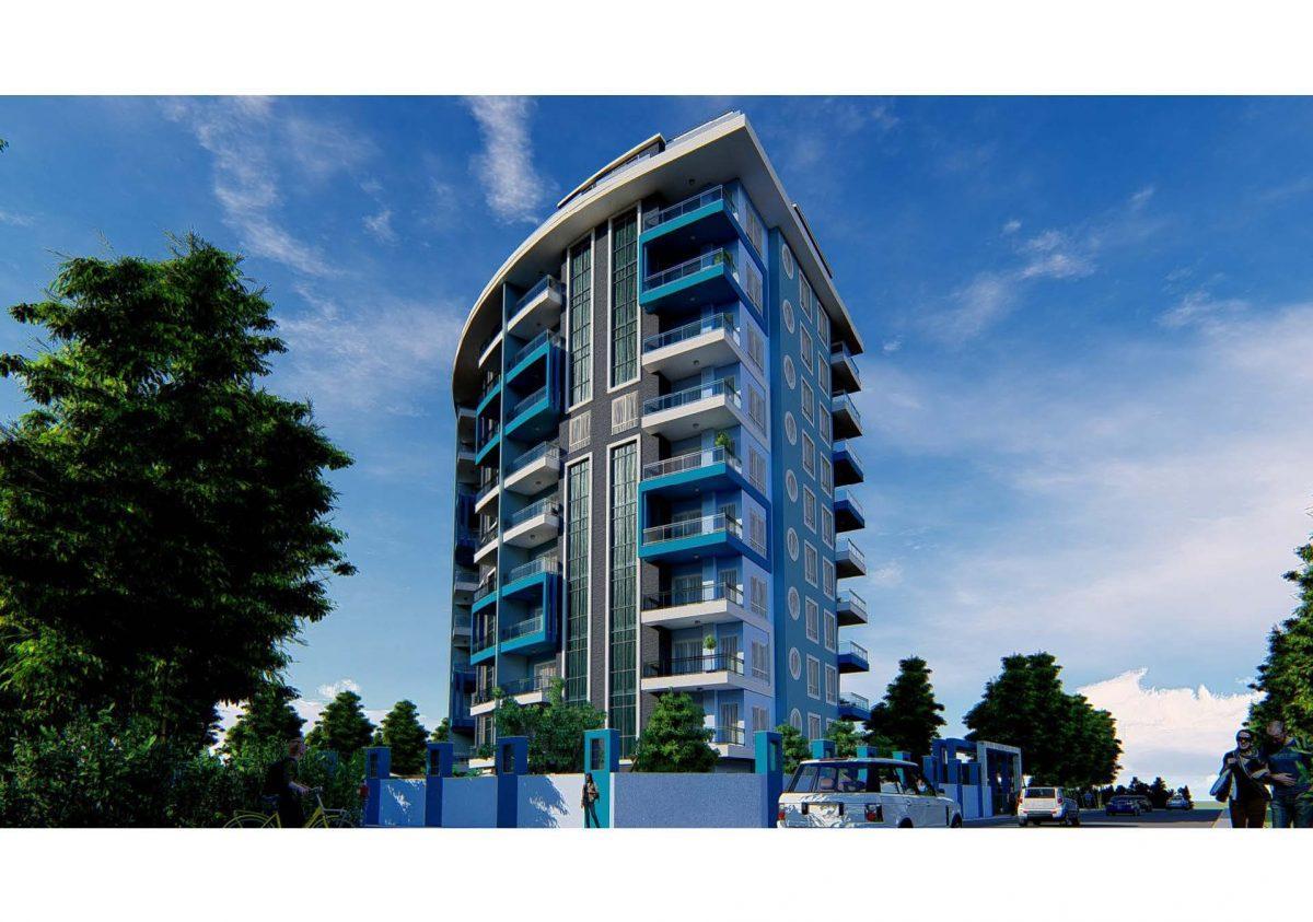 Новый инвестиционный проект в современном курортном районе Махмутлар - Фото 2