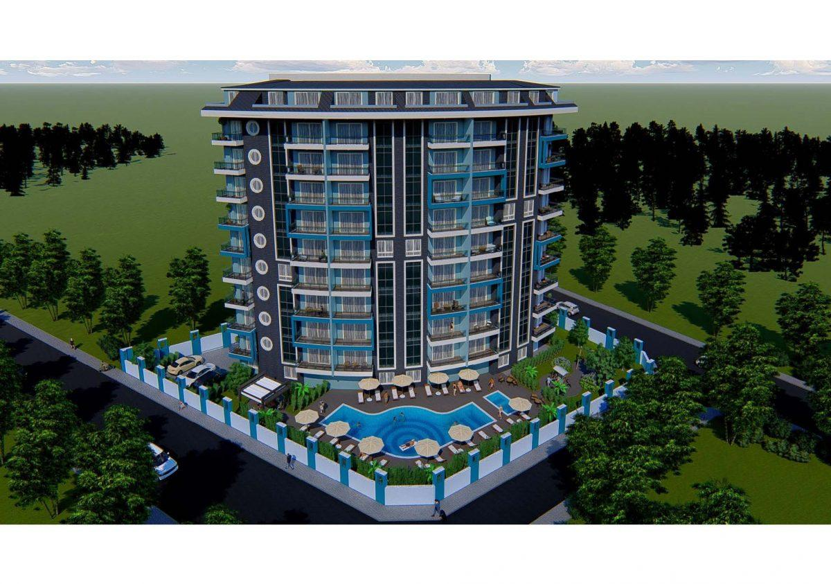 Новый инвестиционный проект в современном курортном районе Махмутлар - Фото 3