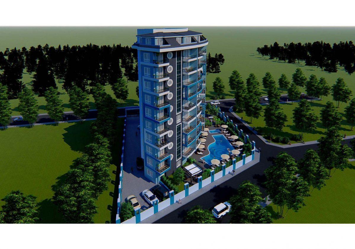 Новый инвестиционный проект в современном курортном районе Махмутлар - Фото 4