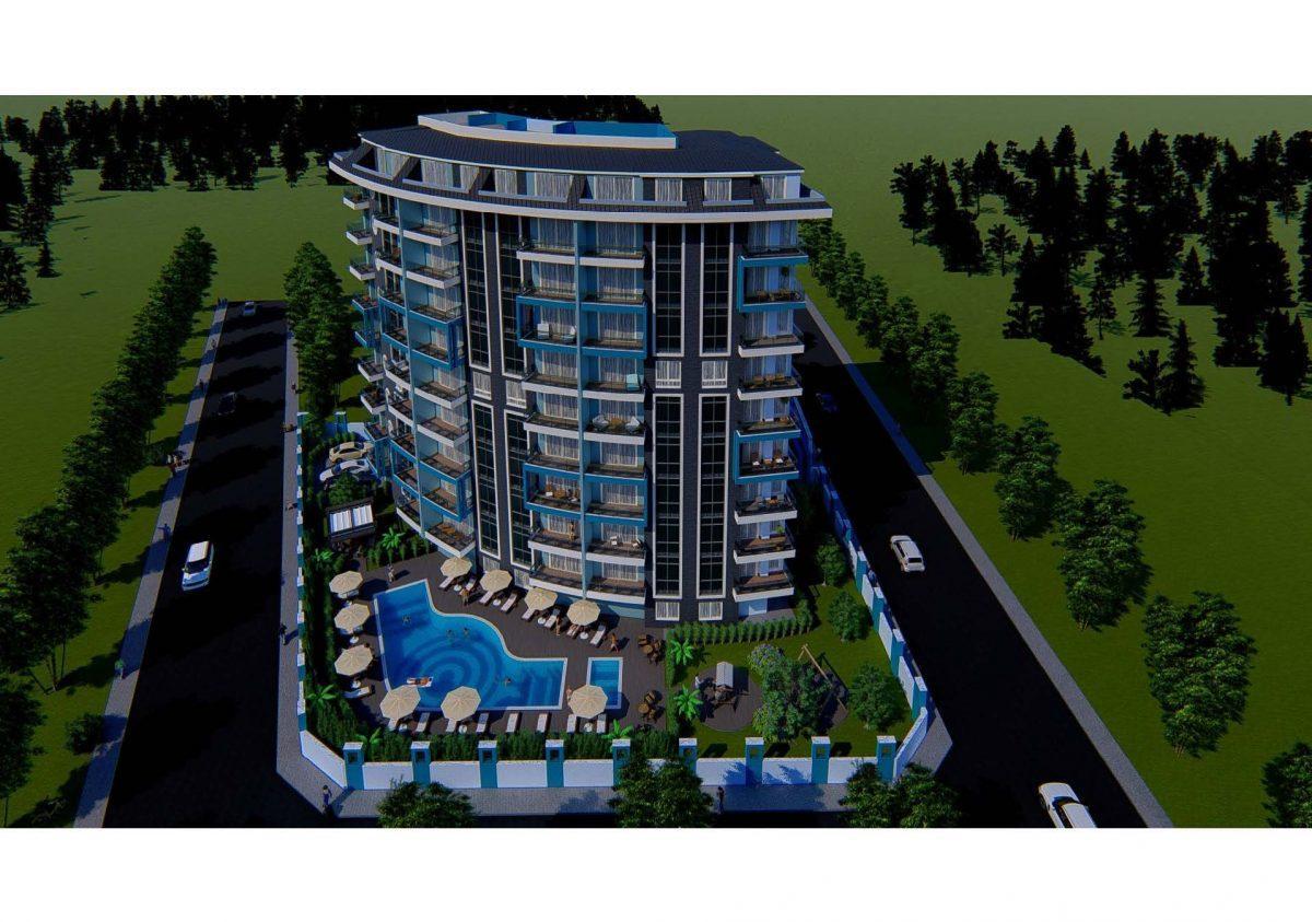 Новый инвестиционный проект в современном курортном районе Махмутлар - Фото 5