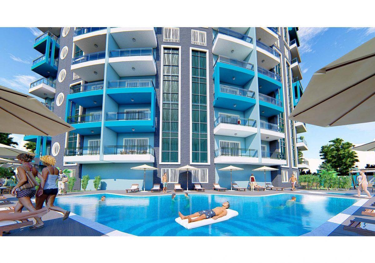 Новый инвестиционный проект в современном курортном районе Махмутлар - Фото 11