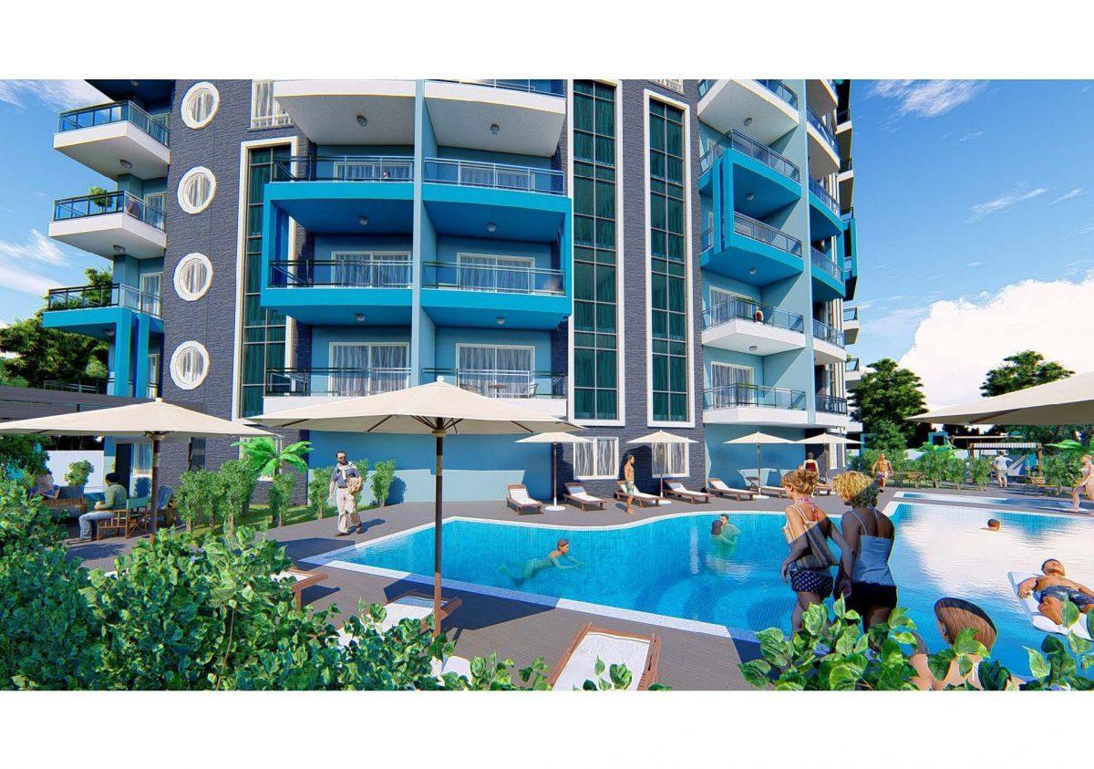 Новый инвестиционный проект в современном курортном районе Махмутлар - Фото 12