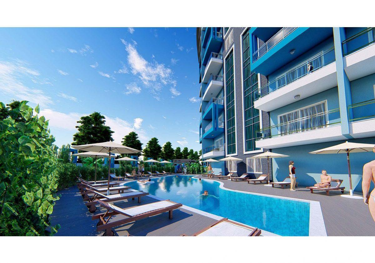 Новый инвестиционный проект в современном курортном районе Махмутлар - Фото 13