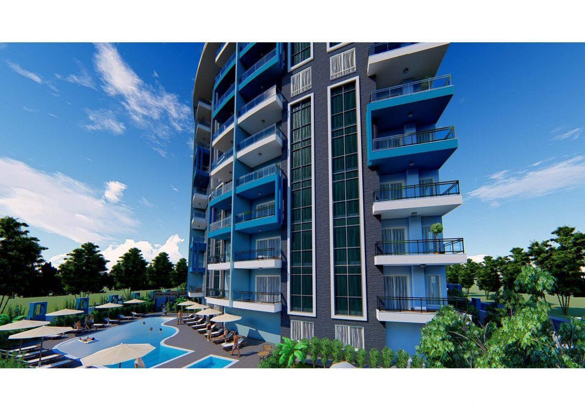 Новый инвестиционный проект в современном курортном районе Махмутлар - Фото 14