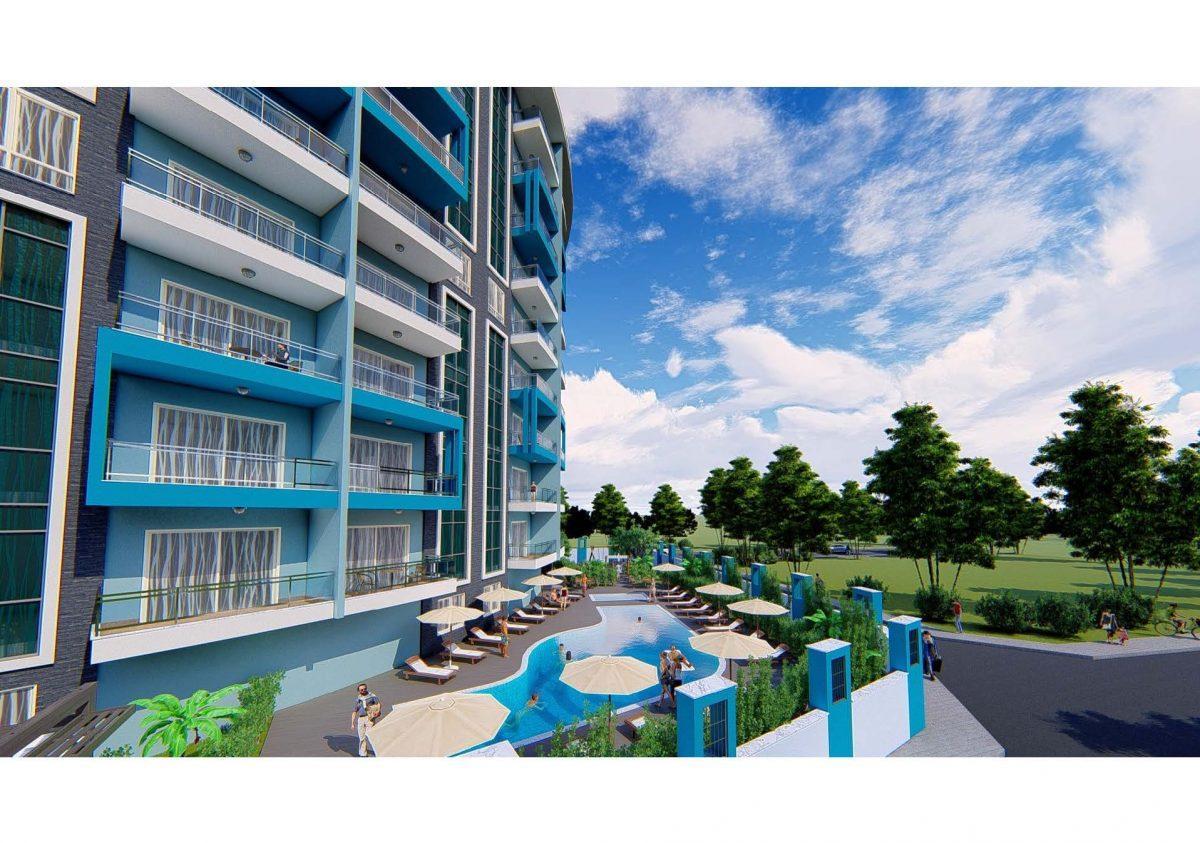 Новый инвестиционный проект в современном курортном районе Махмутлар - Фото 15